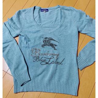 バーバリーブルーレーベル(BURBERRY BLUE LABEL)のバーバリーブルーレーベル セーター(ニット/セーター)