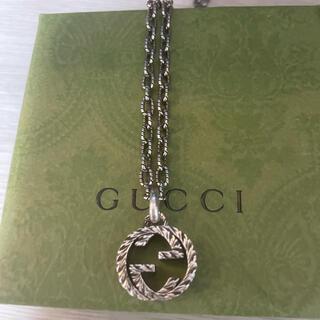Gucci - GUCCI ネックレス インターロッキングG
