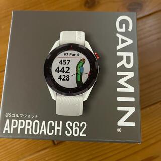 GARMIN - ガーミンアプローチ s62 白 新品未使用