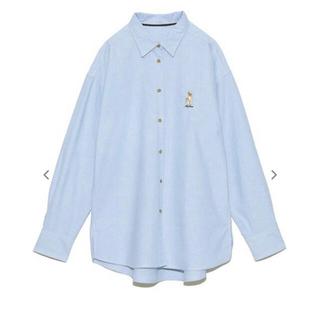 リリーブラウン(Lily Brown)の リリーブラウン シャツ ブラウス LilyBear刺繍シャツ(シャツ/ブラウス(長袖/七分))