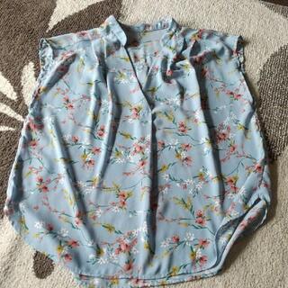 ヴィス(ViS)のレディース ViSノースリーブシャツ(Tシャツ(半袖/袖なし))