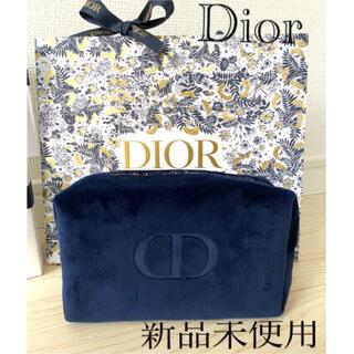 Dior - 【新品】ディオール ポーチ ネイビー2021年限定 クリスマス コフレ オファー