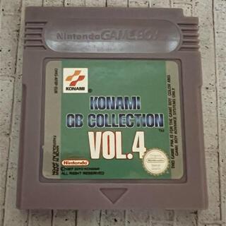 海外製ゲームボーイソフト コナミコレクション4(携帯用ゲームソフト)