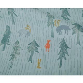 mina perhonen - ミナペルホネン one day mint blue 75×152  (1パネル)