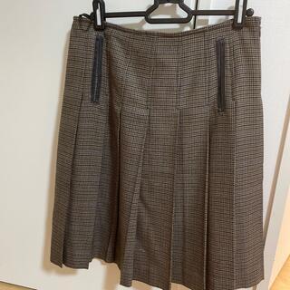 ポールスミス(Paul Smith)のポールスミス ブラック ウールスカート  40(ひざ丈スカート)