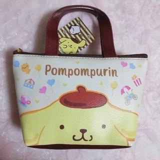 ポムポムプリン(ポムポムプリン)のサンリオ♡ポムポムプリン ミニサブバッグ ポーチ(ポーチ)