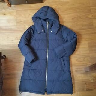 ジーユー(GU)のGU  中綿コート ネイビー XL(ロングコート)