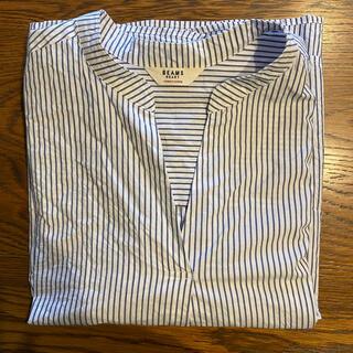 ビームス(BEAMS)のレディース ビームス ストライプ 長袖シャツ used 美品(シャツ/ブラウス(長袖/七分))