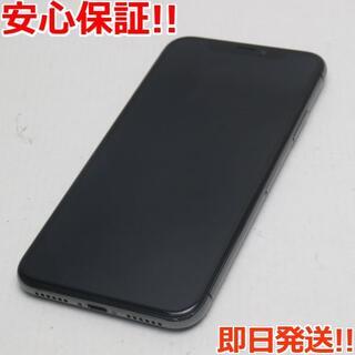 アイフォーン(iPhone)の新品同様 SIMフリー iPhoneX 64GB スペースグレイ (スマートフォン本体)