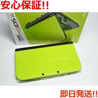 ニンテンドー3DS - 新品 Newニンテンドー3DS LL ライム×ブラック