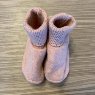 エイチアンドエム(H&M)の未使用⭐︎エイチアンドエム⭐︎ベビー⭐︎ピンク⭐︎靴下⭐︎ニットブーティー⭐︎(その他)