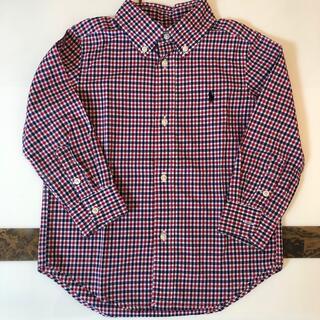 Ralph Lauren - ラルフローレン チェックシャツ 100(3T)110相当