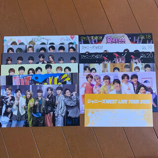 ジャニーズWEST - ジャニーズWEST 会報 vol.12~22