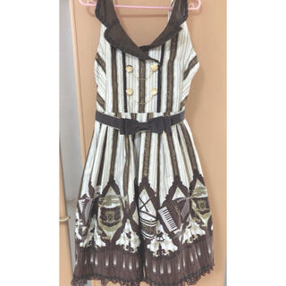 Angelic Pretty - (送料無料)カルテットショコラ 襟付きジャンパースカート