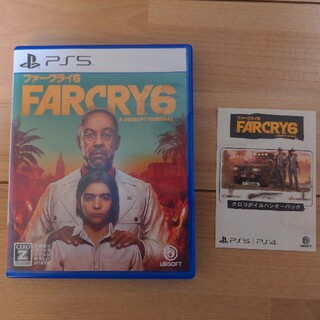 PlayStation - ファークライ6 PS5 特典コード付き Far Cry 6