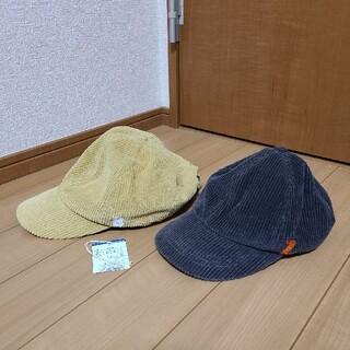 ブリーズ(BREEZE)のBREEZE コーデュロイキャップ 兄弟 姉妹 お揃い ペア 色違い 帽子(帽子)