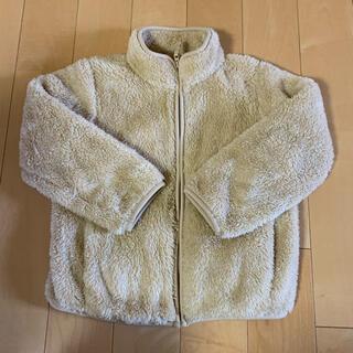 UNIQLO - KIDS ファーリーフリースジャケット 長袖 120