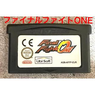 海外製GBAソフト ファイナルファイトOne(携帯用ゲームソフト)
