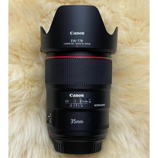 Canon - Canon キャノン EF35mm f1.4L Ⅱ USM EXUSフィルター付