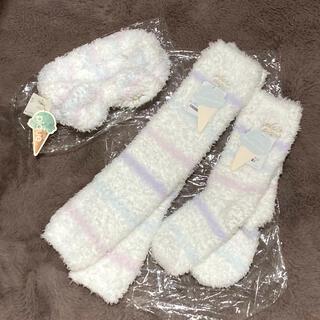 ジェラートピケ(gelato pique)のジェラートピケ 靴下&レッグウォーマー&ヘアバンドセット(ソックス)