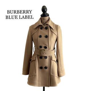 バーバリーブルーレーベル(BURBERRY BLUE LABEL)のBURBERRY BLUE LABEL バーバリー コート ベージュ レディース(ロングコート)