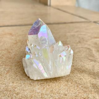 【月末SALE価格❣️】キャンドルクォーツ 水晶 クラスター