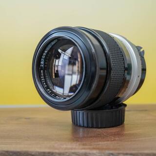 ニコン(Nikon)の【良美品】 ニッコール Q Auto 135mm f2.8 中望遠 シリアル箱(レンズ(単焦点))