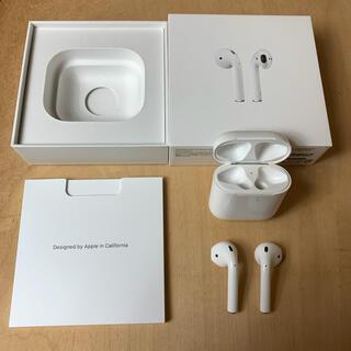 Apple - airpods 第2世代 エアーポッズ 第二世代 apple アップル