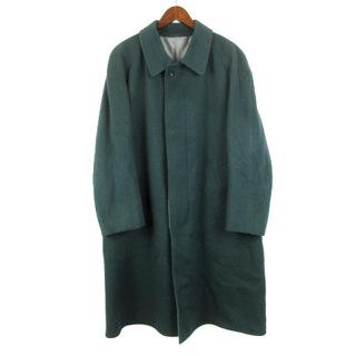 ランバン(LANVIN)のランバン LANVIN ウール ステンカラー コート 起毛 グリーン(その他)