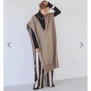 トゥデイフル(TODAYFUL)のKeyneck Knit Vest 新品未使用 今期TODAYFUL(ベスト/ジレ)