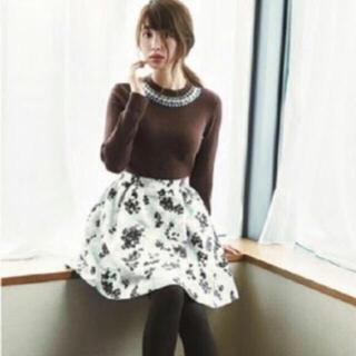 リランドチュール(Rirandture)のこじはる着用花柄スカート(ミニスカート)
