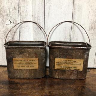 リメイク缶 2個セット(プランター)