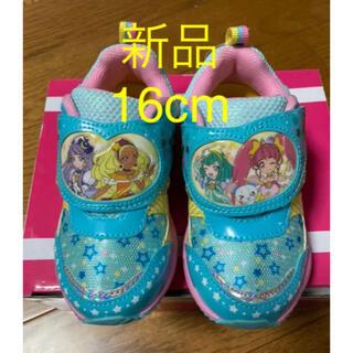 スニーカー プリキュア スタートゥインクルプリキュア  靴 新品靴 16cm