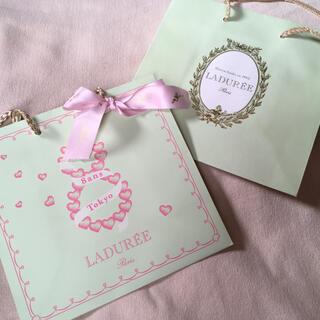 ラデュレ(LADUREE)のラデュレ♡ショッパー♡バッグ♡プレゼント♡紙袋(ショップ袋)