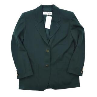 クリスチャンディオール(Christian Dior)のChristian Dior テーラードジャケット M グリーン 未使用品(テーラードジャケット)