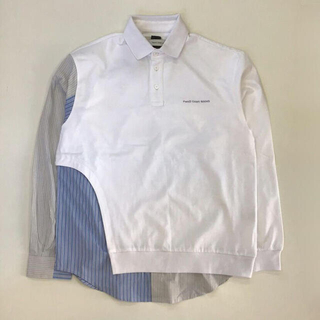kolor - フェンチェンワン 21ss POLO CONTRAST WITH SHIRT