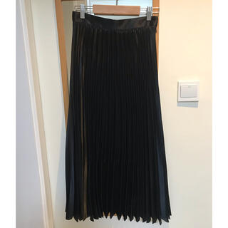 DEUXIEME CLASSE - 美品ブレンヘイム ロングプリーツスカート 38 ブラック