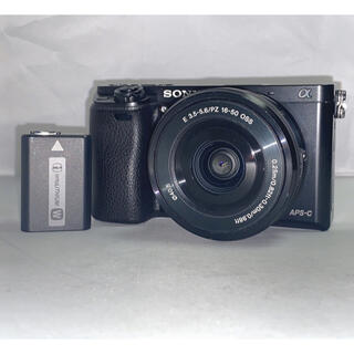 SONY - SONY α6000 16-50mm PZ ilce-6000L ボディ 本体