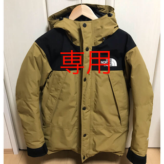 THE NORTH FACE - THE NORTH FACE / MOUNTAIN DOWN JACKET