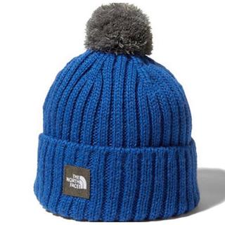 THE NORTH FACE - 新品未使用 ノースフェイス ニット帽 ブルー グレー