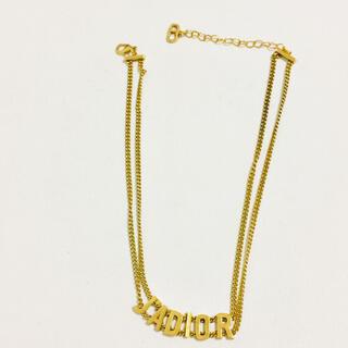 ディオール(Dior)のdior ネックレス(ネックレス)
