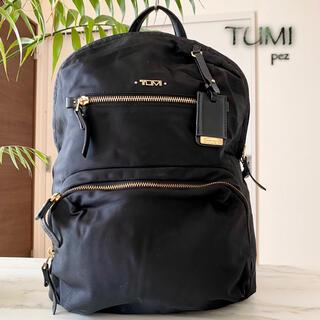 TUMI - 美品 TUMI トゥミ 約4.2万 大容量 レザーリュックバッグ