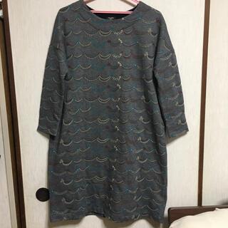 mina perhonen - 【美品】marble sud 刺繍ワンピース