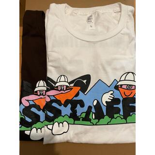 ビームス(BEAMS)の非売品フジロック2021スタッフTシャツFUJIROCKFESTIVAL(Tシャツ/カットソー(半袖/袖なし))