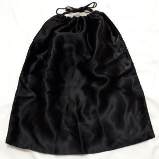 サンローラン(Saint Laurent)のYSL イヴ・サンローラン サテン巾着袋 ブラック(その他)