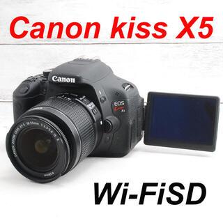 Canon - ❤️スマホ転送&自撮り❤️一眼レフ❤️Canon kiss X5