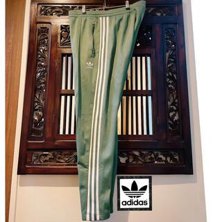 アディダス(adidas)のアディダス オリジナルス 人気 グリーン 緑 ジャージ パンツ パーカー (ジャージ)