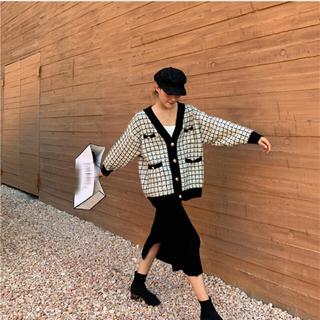 dholic - ツイードニット 韓国ファッション ディーホリック バースデーバッシュ