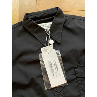 Maison Martin Margiela - 黒40新品 メゾン マルジェラ 半袖 シャツ メンズ ブラック