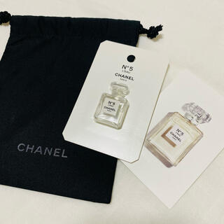 CHANEL - CHANEL シャネル N°5 ロー 香水 試供品 巾着 新品未使用♪